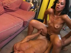 Hairy mature cunt fucked by hard cock