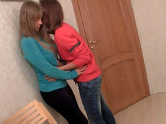 Sexy teens playing naughty together