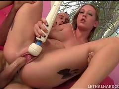 Big cock she blows fucks her vagina