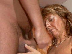 Granny Martina E fucks in missionary pose