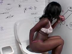 Glamorous ebony Conchita suck a white dick