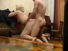 Slamming A Russian Granny