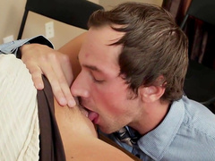 Office fuck for needy blonde in heats