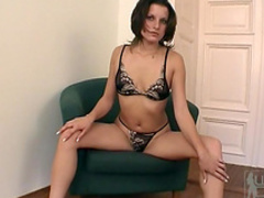 Brunette Petra Short undressed her body at the casting