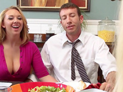 Big tits milf goes wild on younger dick