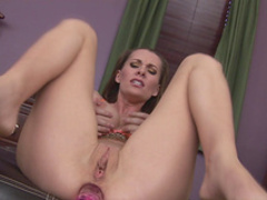 MILF Brandi Edwards is playing with a dick