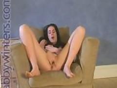 A Clit Tickling Teen