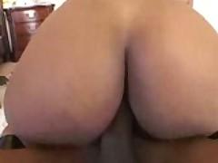 Hot ebony assfuck on carpet