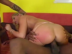 MMF fuck with an insane blonde Sandra De Marco
