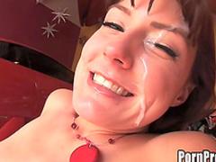 Bald fucker penetrates this innocent beauty