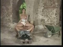 Daria Glower in a threesome