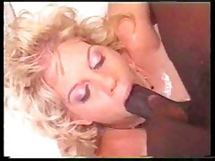 Amazing milf blowjob and deepthroat big black cock