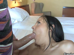 Beauty being drilled in her tight pussy