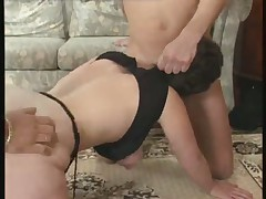 Horny mature fucking and fisting