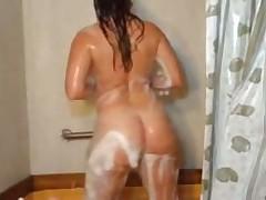 Big and Beautiful Woman Showers