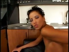 Angel Dark takes it in the ass like a pro
