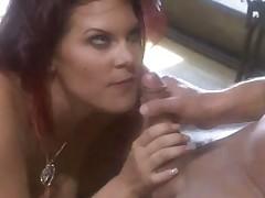 Hot Busty Redhead Rebecca Love Gets Kinky