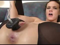 sexy slut plays her ass