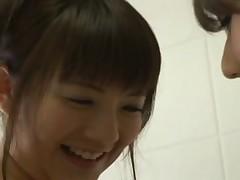 Japanese girls in shower