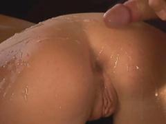 Blonde pornstar Hollay Scott featuring hot threesome sex