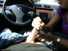 Blowjob in car