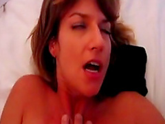 Pretty spicy amateur babe is fucking in anal