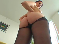 Bodacious lubed up ass hardcore
