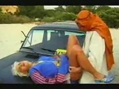 Taxi Driver Slams Blonde Bimbo