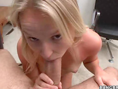 Natalia Rogue rides a dick