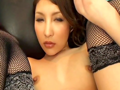Sensual Asian Lala Mizuki loves to feel dildos