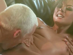 Naked Asian Kaylani Lei fucked