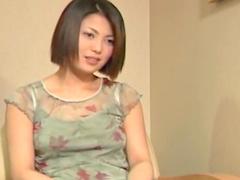Cute Japanese babe Minayo Okamoto fucks in the office