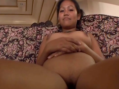 Sweet Thai beauty is fucking with small dick