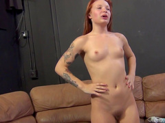 Sweet cock-sucking angel Alyssa Branch makes a blowjob