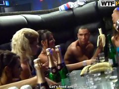 Slut fucked in pool bar