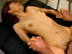 Sweet Asian babe and nice Asian dick