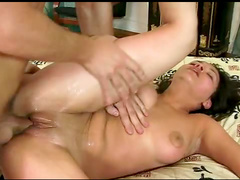 Big prick inside young pussy