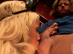 Stunning blonde Bridgette B is fucking with force