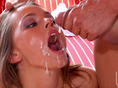 Tori Black and two long hard dicks in her pussy and anal