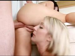 Teens learn to share cock