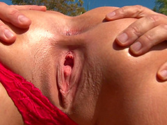 Outdoor anal session with Lioness
