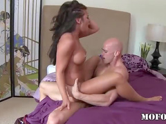 Cunt loosened by big cock
