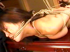 Alluring tied Japanese beauty is getting dose of humiliation