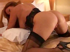 Wife goes black in hotel