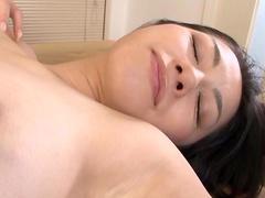 Brunette Kyoka Ishiguro gets fucked in hairy pussy