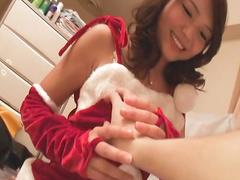 Cock-sucking cutie Megumi Shino