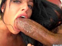 Sadie West and gigantic cock