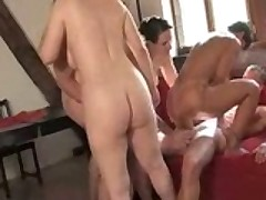 Lucky Dude Fucks 4 Mature Slut