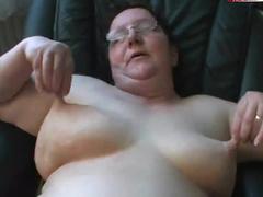 Fat mature wife fucked POV