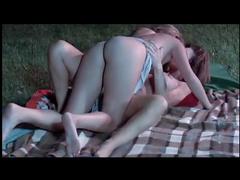 Outdoor milf lesbian scenes